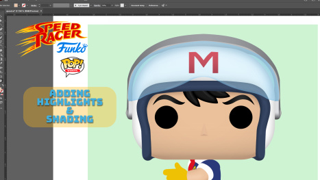 Adobe Illustrator: Character Art Meets Toy Design Part 2