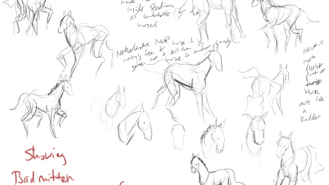 Quick stream: Life drawing horses on the olympics