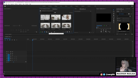 Edit A Simple Wedding Video (Static Cameras) in Premiere Pro PART 1