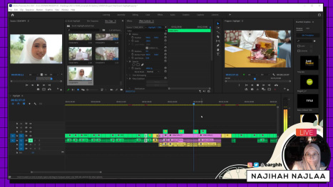 Edit Video in Adobe Premiere Pro (Single Camera) PART 1